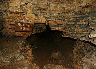Mark Twain Cave - Alleged Jesse James Hideout