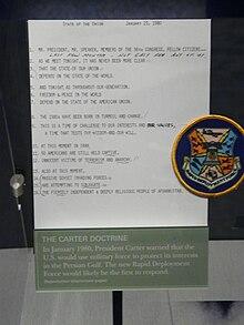carter doctrine wikipedia