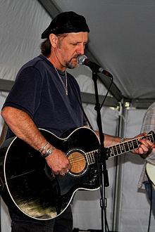 LaFave performing at the 2012 Texas Book Festival.