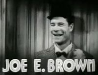 Tráiler de Bright Lights (El despertar de un payaso), película de 1935 protagonizada por Joe E. Brown.