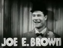 Joe E Brown in Bright Lights trailer.jpg
