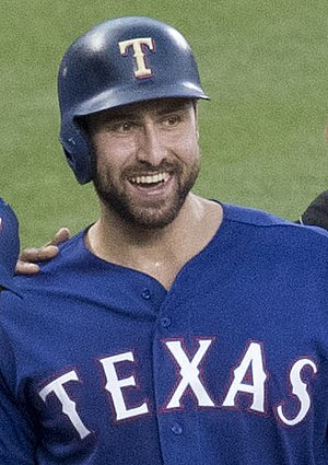 Joey Gallo (baseball) - Gallo with the Rangers in 2017
