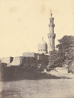 Mosque of Amir al-Maridani - Earliest photo, 1854 by John Beasley Greene
