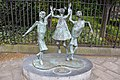 John Behan - Millennium Child (2000) statue and plaque.jpg