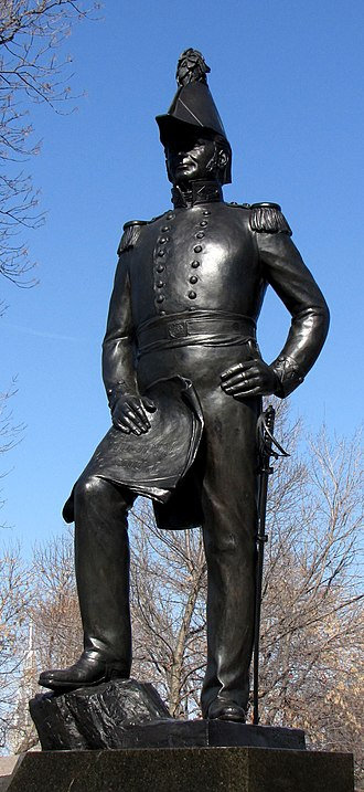 John By - Joseph-Émile Brunet's statue of John By in Major's Hill Park, Ottawa