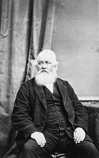 Cashmere, New Zealand - John Cracroft Wilson in 1878
