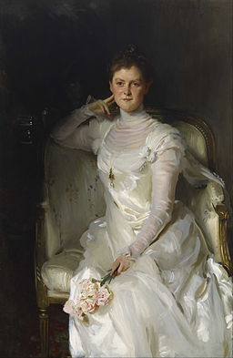 John Singer Sargent - Mrs. Joshua Montgomery Sears (Sarah Choate Sears) - Google Art Project