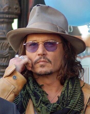 English: Johnny Depp at a ceremony for Penélop...
