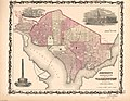 Johnson's Georgetown and the city of Washington - the capital of the United States of America LOC 88693499.jpg