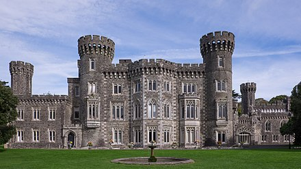 Johnstown Castle Johnstown Castle - from the south-west.jpg