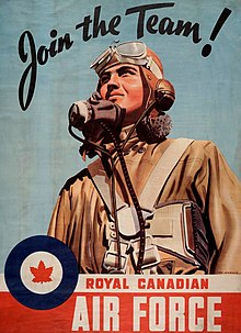 History of the royal canadian air force wikipedia second world war recruiting poster sciox Choice Image