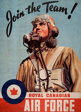 Second World War Recruiting poster