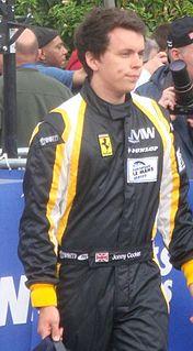 Jonny Cocker British racing driver