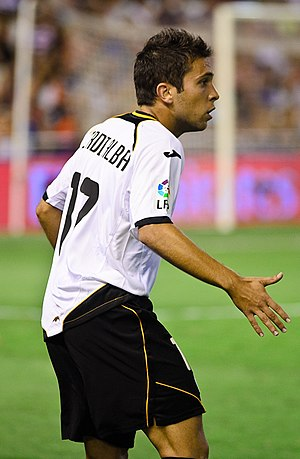 Jordi Alba - Alba in action for Valencia.