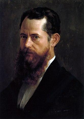 José María Velasco Gómez - Self-portrait (1894)