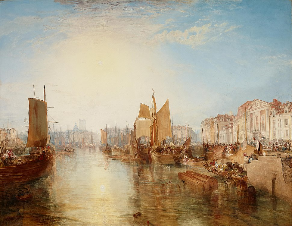 Joseph Mallord William Turner - The Harbor of Dieppe - Google Art Project
