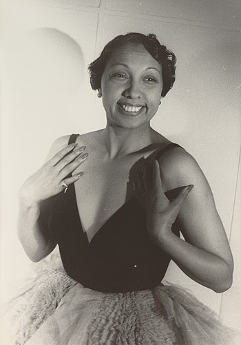 Portrait of Josephine Baker, Paris