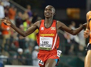 Joshua Cheptegei Ugandan long-distance runner