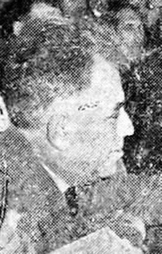 President of the League of Communists of Serbia - Jovan Veselinov