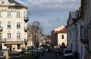 Dzielnica of Kraków in Lesser Poland, Poland