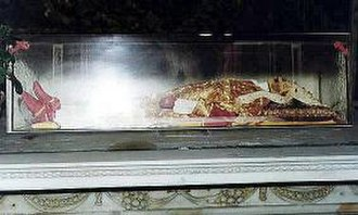 Judas Cyriacus - The body of Judas Cyriacus in the Cathedral of Ancona.