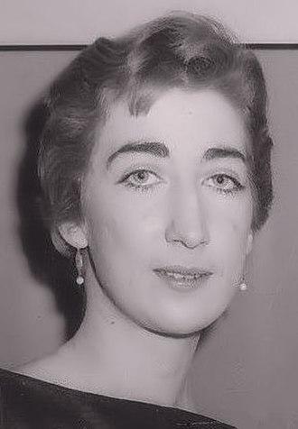 Julie Bovasso - Bovasso in 1956