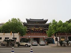 Jusheng Temple in Wuma, Lucheng, Wenzhou, Zhejiang, China