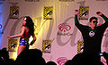 Justice League skit at WonderCon 2010 Masquerade 5.JPG