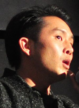 Justin Chon - Chon appearing at the 2017 Seattle International Film Festival for a showing of his film Gook