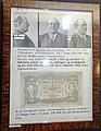 Justismuseet. Counterfeit money etc. (falske penger) in Norway. Falskmyntner Marinus Søby Fjeldgård; falsk tikroneseddel 1924. Norwegian National Museum of Justice, Trondheim 2019-04-10 DSC03248.jpg