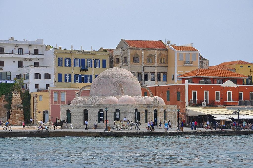 Küçük Hasan Pasha Mosque in Chania, Crete 001