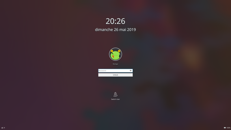 File:KDE Plasma 5 Lockscreen png - Wikimedia Commons