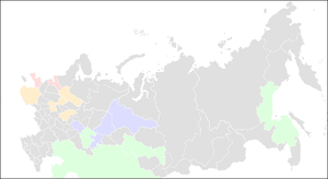 Kontinental Hockey League map