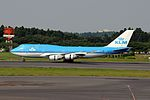 KLM Royal Dutch Airlines, Boeing 747-406, PH-BFG (19537919963).jpg
