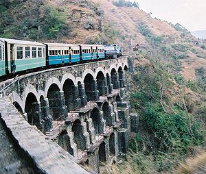 1903 in rail transport - Kalka-Shimla Railway