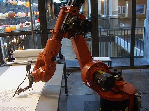 KUKA Industrial Robot Writer