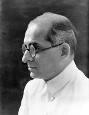 Kanaiyalal Maneklal Munshi - Munshi in his early sixties.