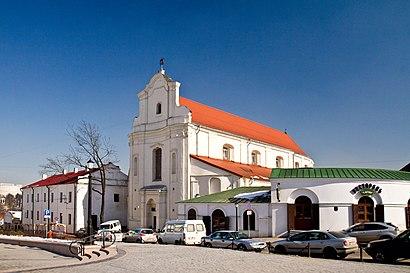 Как доехать до Костёл Святого Иосифа И Монастырь Бернардинцев на общественном транспорте