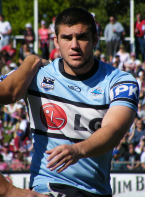 Kade Snowden - Snowden playing for the Sharks