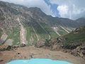 Kaghan Valley, Way to lake Saiful Mulook.jpg