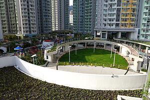 Public housing estates in the Kai Tak development area - Open space inside estate