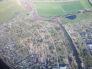 Kaiapoi River river in New Zealand