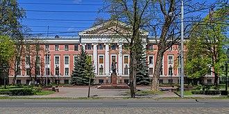 Kaliningrad - Baltic Fleet HQ (ex-postal admn. bldg.)