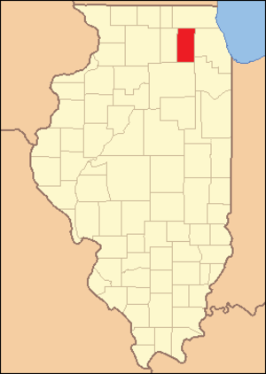 Kane County, Illinois - Image: Kane County Illinois 1837