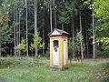 Kaplička u silnice Hostomice - Buková u vrchu Velká Baba (Q94435260) 02.jpg