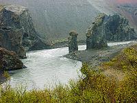 Parque Nacional de ökulsárgljúfur.
