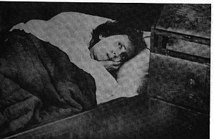 Karolina Olsson - Olsson on 14 April 1908, just a few days after she purportedly awoke from three decades of hibernation