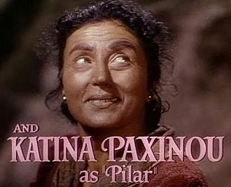 Katina Paxinou - Paxinou in the For Whom the Bell Tolls trailer.