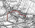 Katowice - Ulica Obrońców Westerplatte na mapie z 1933.jpg