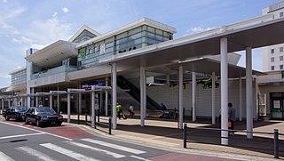 Katsuta Station Railway station in Hitachinaka, Ibaraki Prefecture, Japan
